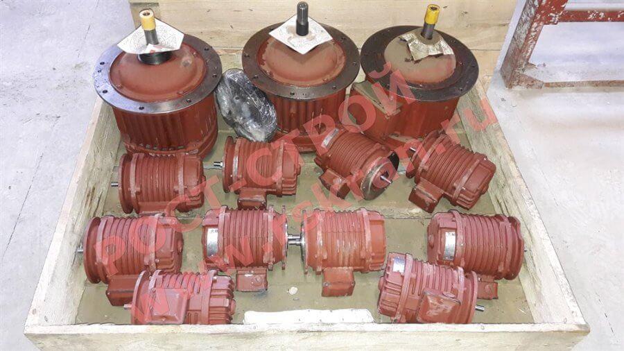 Двигатели болгарского тельфера
