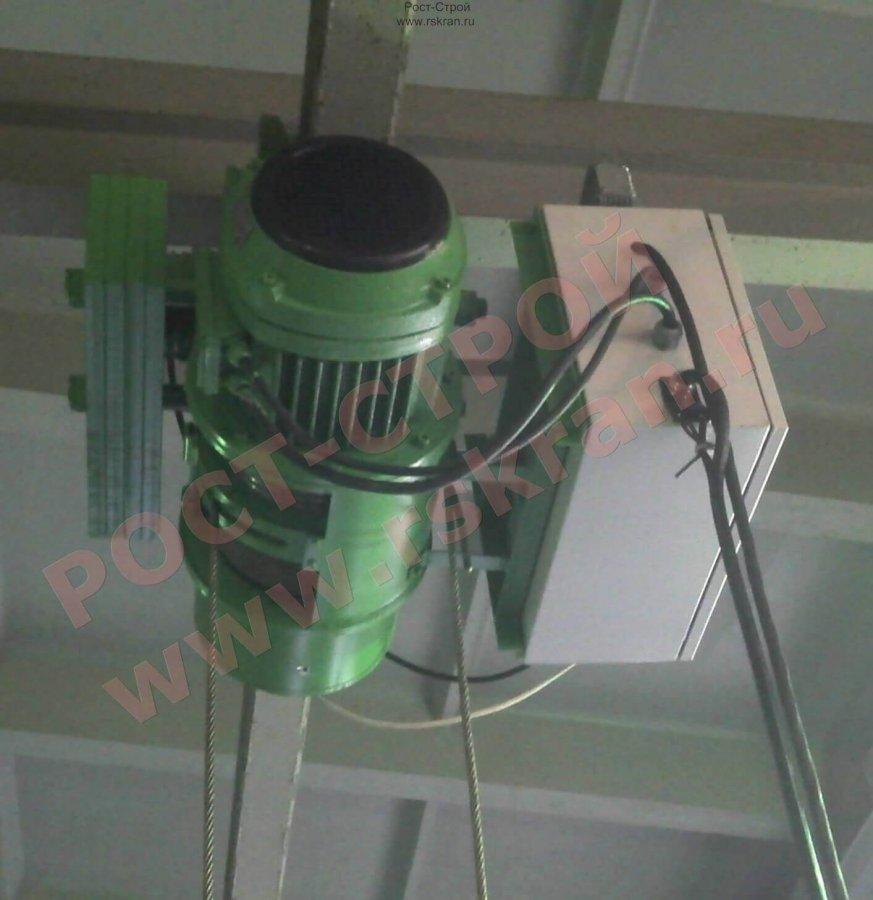 тельфер с частотным преобразователем на подъем