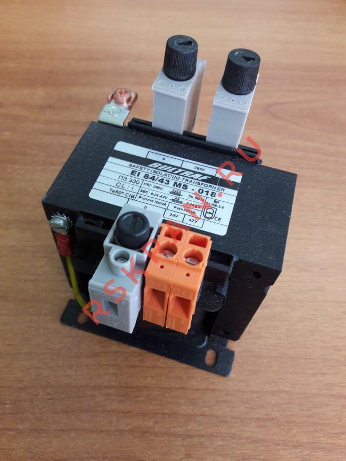 Трансформатор для тельфера EI аналог ПЗ
