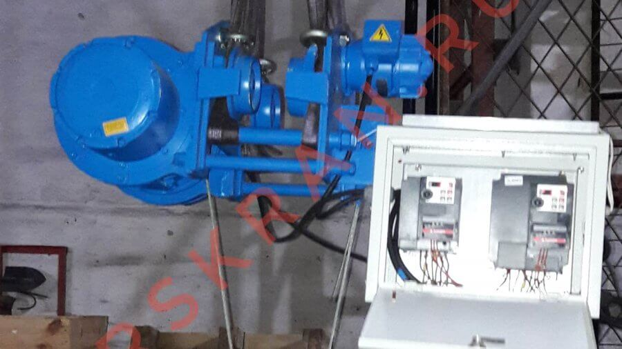 Таль электрическая УСВ с частотными преобразователями на подъем и перемещение для плавного подъема и перемещения груза