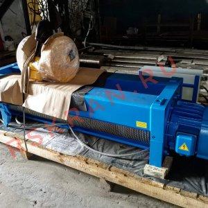Тельфер стационарный для грузовой телеги двухбалочного крана гп 16м
